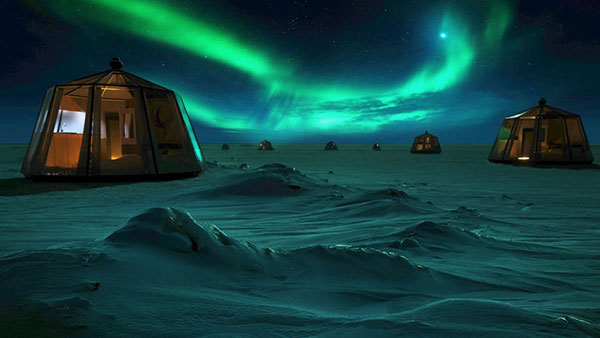 North Pole Igloos hotel
